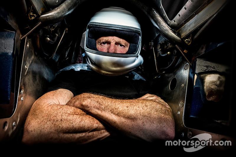 Danny Thompson en el Challenger II