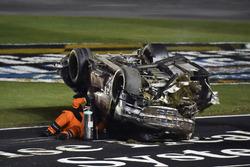 Timothy Peters, Chevrolet Silverado wreck