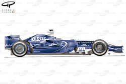 Williams FW30 2008 side view