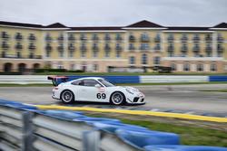#69 MP1B Porsche GT3 Cup, George Hazbun, Diego Cuestas, NGT Motorsport