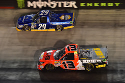 Chase Briscoe, Brad Keselowski Racing Ford, Cody Coughlin, ThorSport Racing Toyota
