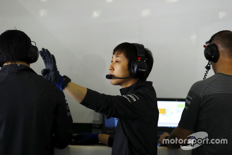Kenji Nakano, Honda Chief Mechanic, McLaren-Honda