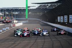 Départ : Nico Jamin, Andretti Autosport mène