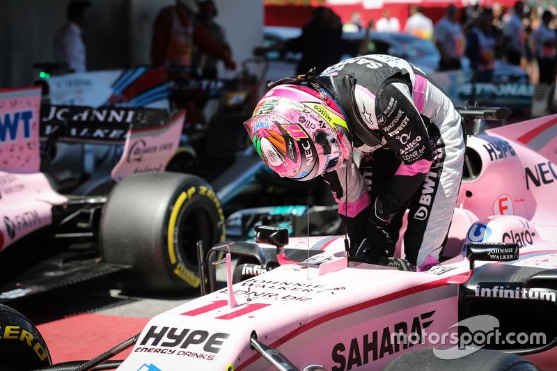 4e : Sergio Pérez (Force India)