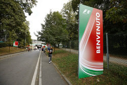 Eingang zum Autodromo Nazionale Monza