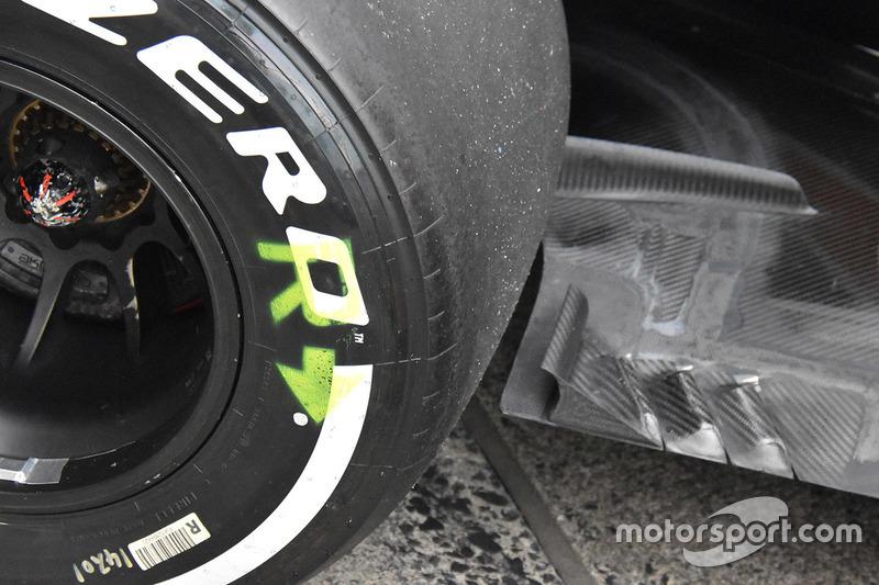 McLaren MCL32: Unterboden