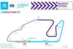 Layout Circuit Ricardo Tormo dengan dua chicane