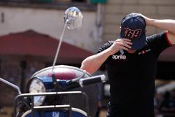 Sam Lowes, Aprilia Racing Team Gresini, mit Cap von Nicky Hayden