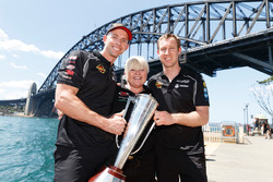 David Reynolds,  Louke Youlden, Erebus Motorsport Holden, Betty Klimenko, Erebus Motorsport Holden team owner