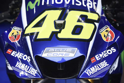 Мотоцикл Yamaha Валентино Росси с новым обтекателем
