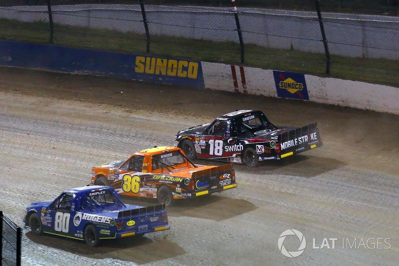 Chris Windom, MB Motorsports Chevrolet, Justin Shipley, Ford