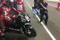 Andrea Dovizioso, Ducati Team, Carenado