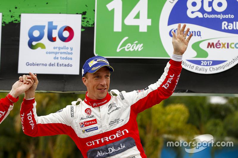 Ganador, Kris Meeke, Citroën World Rally Team