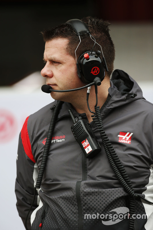 Peter Crolla, Haas F1 Team Head of Logistics