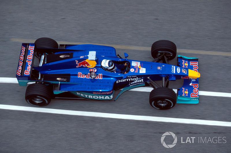 Kimi Raikkonen - 2000 Sauber testi