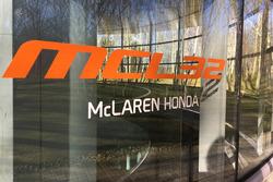 Le logo de la McLaren MCL32