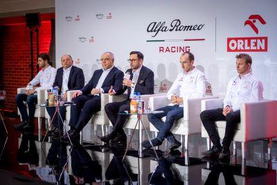 Alfa Romeo Racing Orlen - Prezentacja w Warszawie