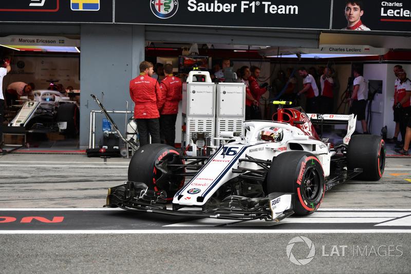 Charles Leclerc, Sauber C37