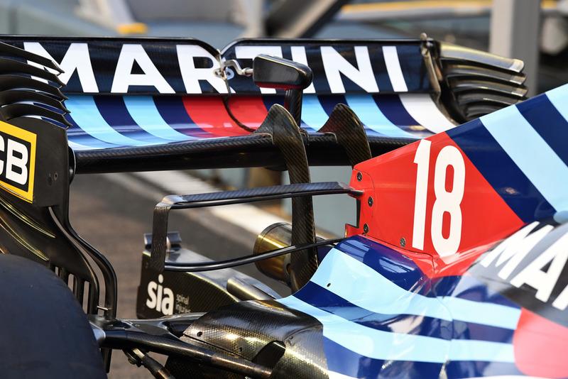 Ala trasera del Williams FW41