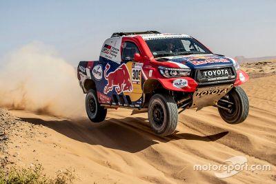 Toyota Erfoud test