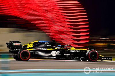 Tes F1 Abu Dhabi