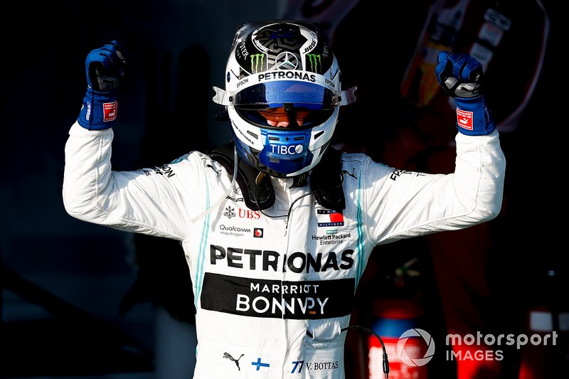 Ganador Valtteri Bottas, Mercedes AMG F1