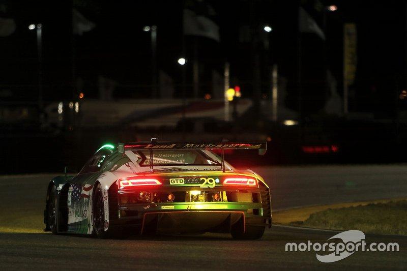 #29 Montaplast by Land Motorsport Audi R8 LMS GT3: Daniel Morad, Christopher Mies, Dries Vanthoor