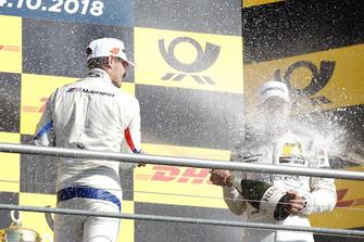 Podium: Marco Wittmann, BMW Team RMG and Gary Paffett, Mercedes-AMG Team HWA
