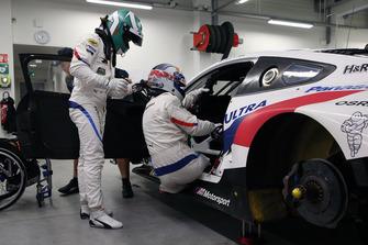 Jesse Krohn, Alex Zanardi, BMW M8 GTE