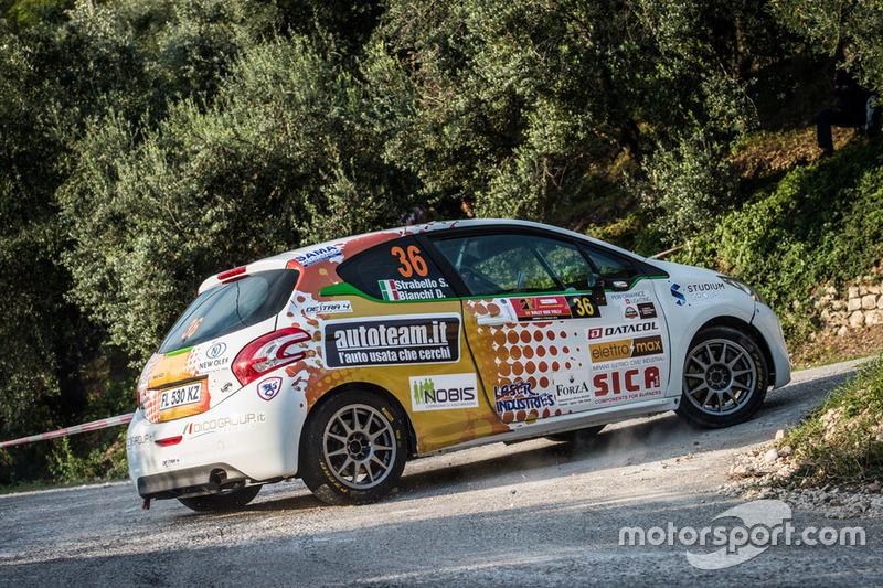 Stefano Strabello, Giuseppe Ceschi, Peugeot 208 R2B