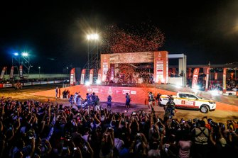 Podio: Red Bull KTM Factory Racing KTM: Toby Price, Matthias Walkner, Sam Sunderland