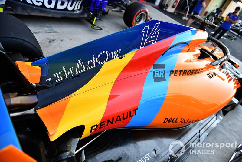 Особая ливрея McLaren MCL33 Фернандо Алонсо