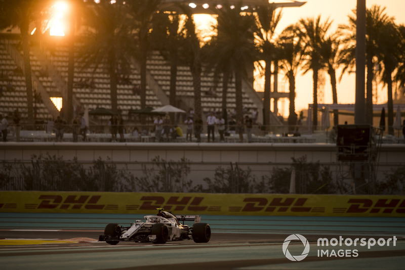 8: Charles Leclerc, Sauber C37, 1'36.237