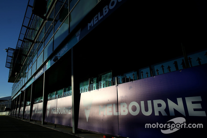Atmosphäre an der Strecke in Melbourne
