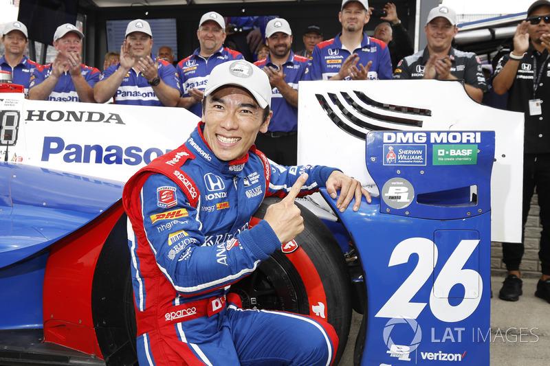 Polesitter: Takuma Sato, Andretti Autosport, Honda