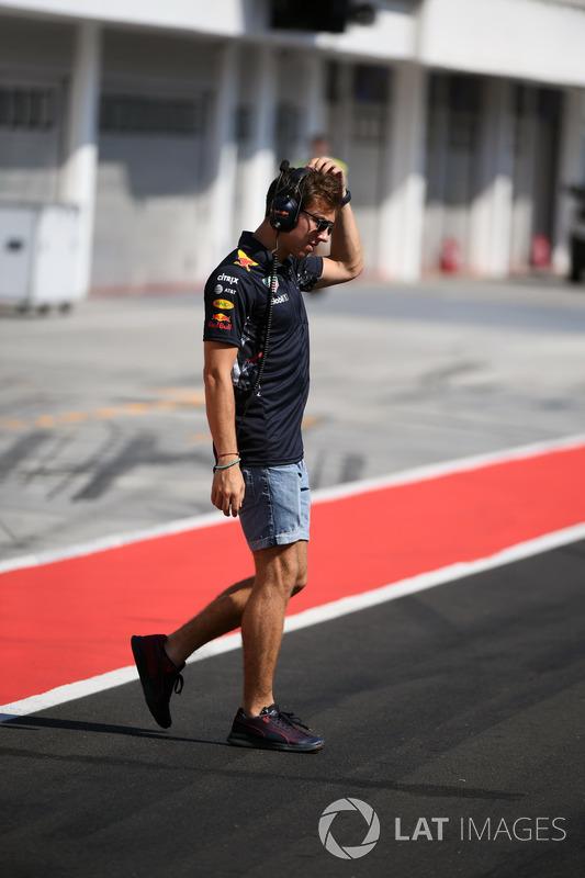 П'єрр Гаслі, тест-пілот Red Bull Racing