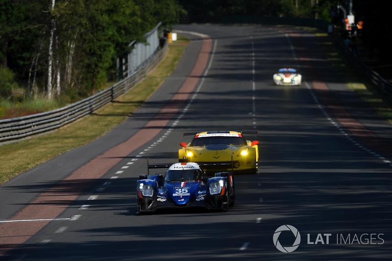 Добавят ли машины LMP2 проблем с трафиком?