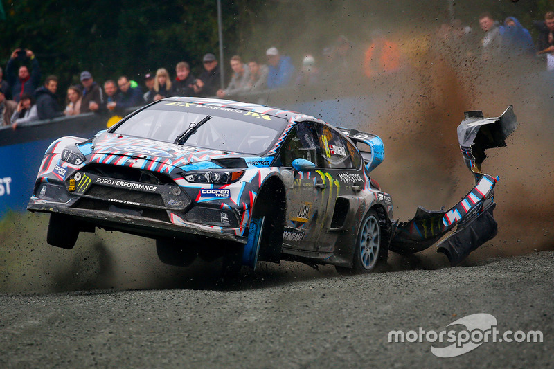 2. Andreas Bakkerud, Hoonigan Racing Division Ford