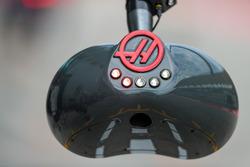 Haas F1 Team pit stop lights