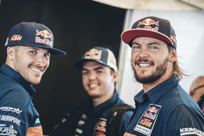 Toby Price, Red Bull KTM Factory Racing, Sam Sunderland, Red Bull KTM Factory Racing