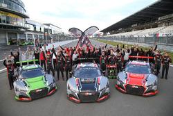 2017 champions Belgian Audi Club Team WRT