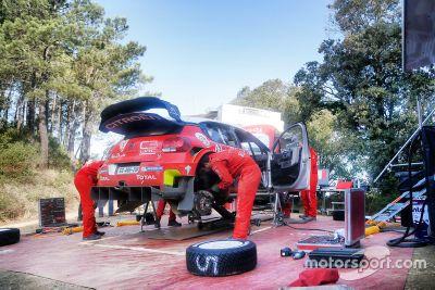 Test de Sébastien Loeb en tierra