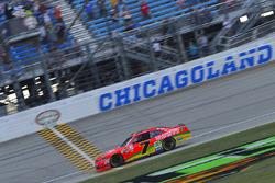 Justin Allgaier, JR Motorsports Chevrolet takes the checkered flag