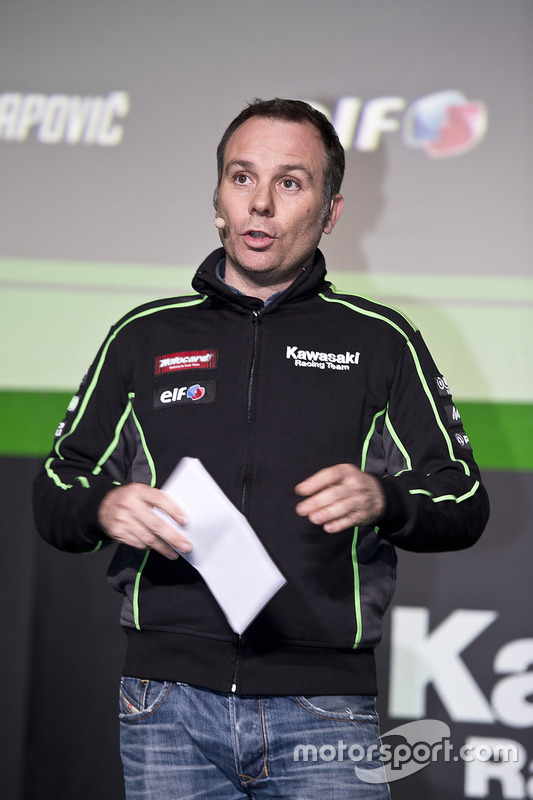 Guim Roda, Team Manager du Kawasaki Racing Team