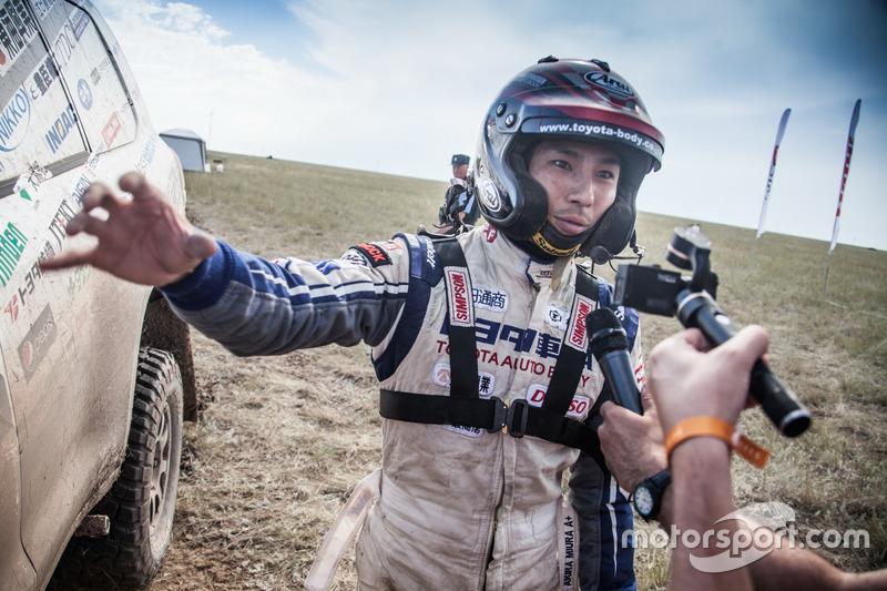 #133 Team Land Cruiser Toyota: Akira Miura