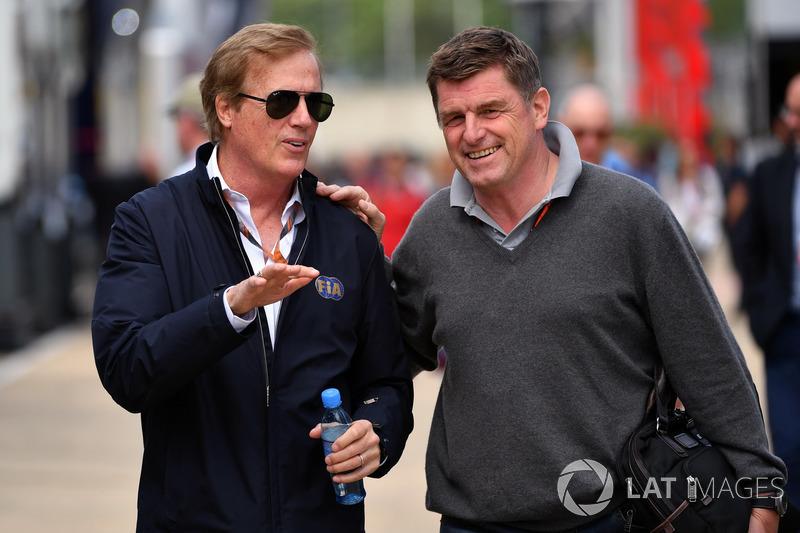 Danny Sullivan, delegado de FIA