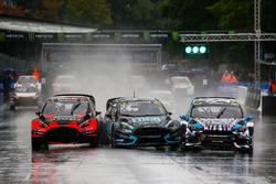 Niclas Grönholm, Olsbergs MSE, Ford Fiesta, Janis Baumanis, STARD, Ford Fiesta, Ken Block, Hoonigan Racing Division, Ford Focus RSRX