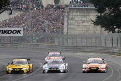 Timo Glock, BMW Team RMG, BMW M4 DTM, Tom Blomqvist, BMW Team RBM, BMW M4 DTM, Jamie Green, Audi Sport Team Rosberg, Audi RS 5 DTM