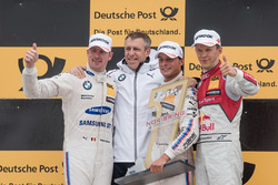 Podium: 1. Bruno Spengler, BMW Team RBM, BMW M4 DTM, 2. Maxime Martin, BMW Team RBM, BMW M4 DTM, 3.
