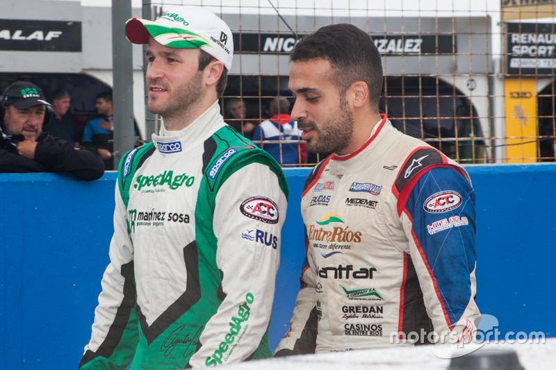 Agustin Canapino, Jet Racing Chevrolet, Martin Ponte, UR Racing Team Dodge